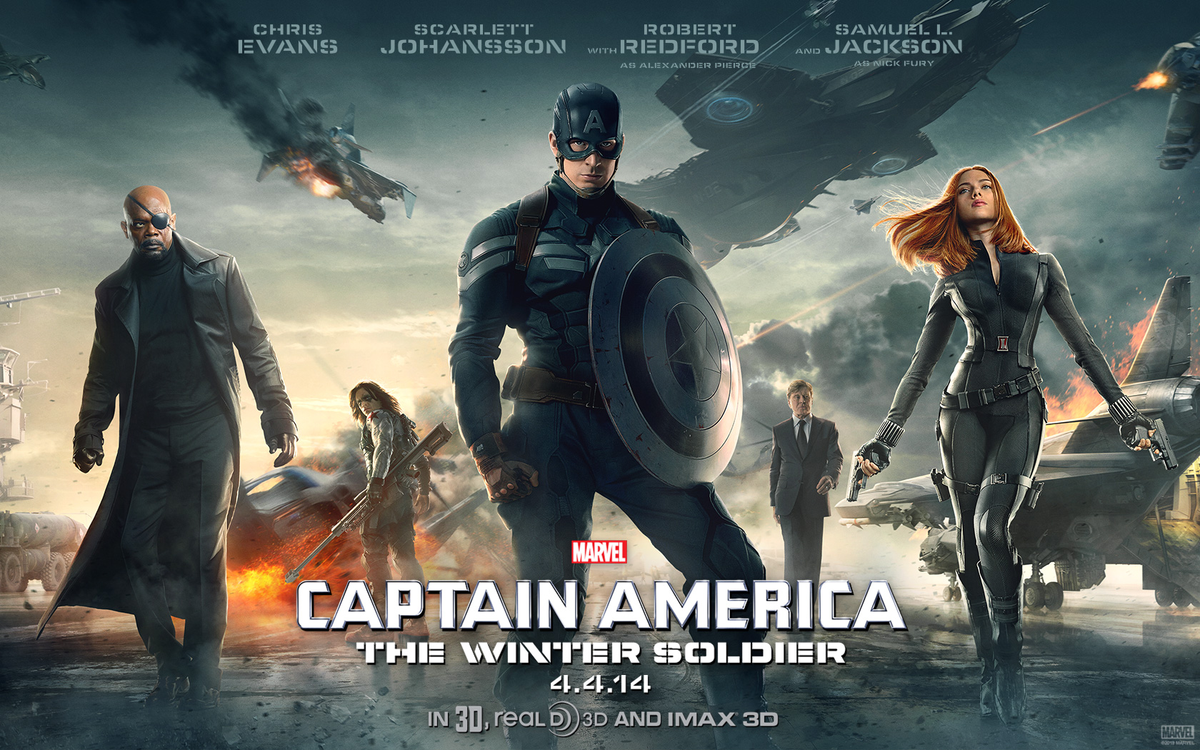 Wallpaper: Captain America - Winter Soldier