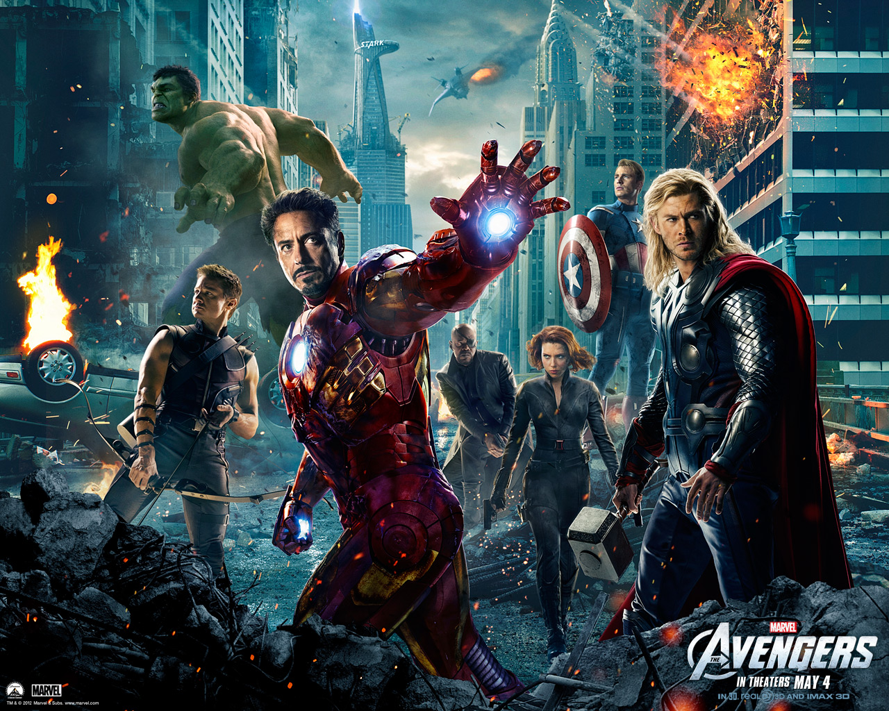 Avengers movie teaser poster/wallpaper download