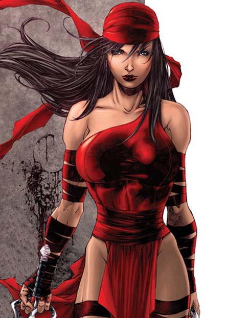 Size of this preview 425 Elektra Marvel