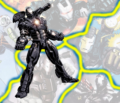 Ultimate Avengers 2 War Machine