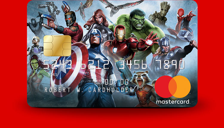 The Avengers Marvel Mastercard