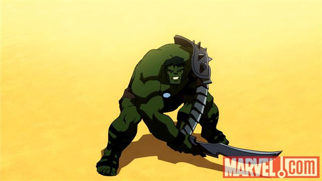 Planet Hulk animated