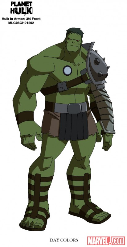 Planet Hulk - DVD & Blu-ray