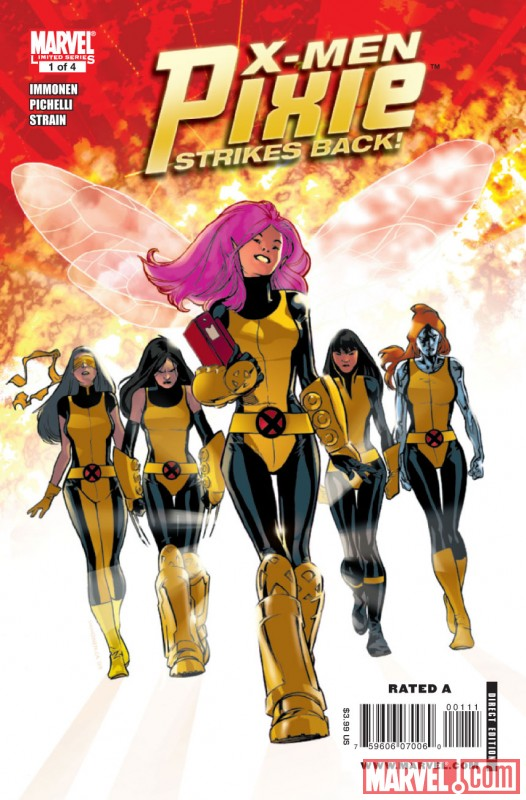 X-MEN: PIXIE STRIKES BACK #1 Cover By Stuart Immonen
