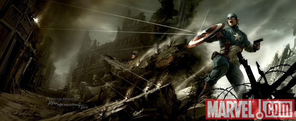 Thor & Capitão América nos cinemas