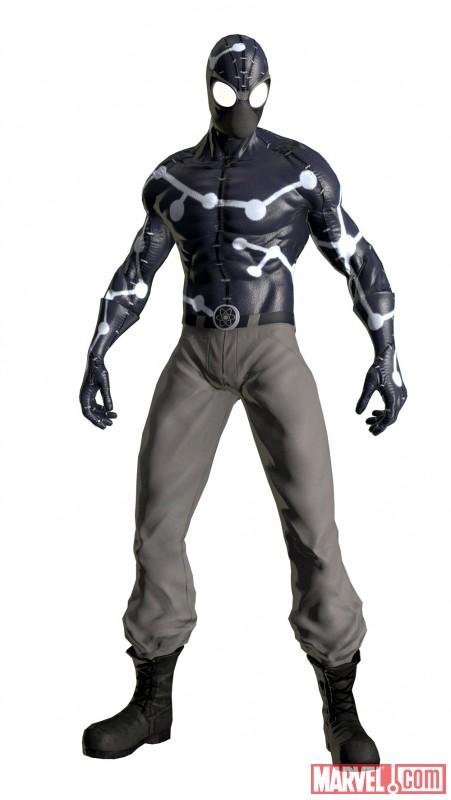 2 游戏原创 宇宙能量装蜘蛛人(noir)