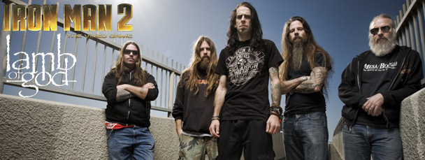 Lamb of God Thrashes for Iron Man 2: The Video Game