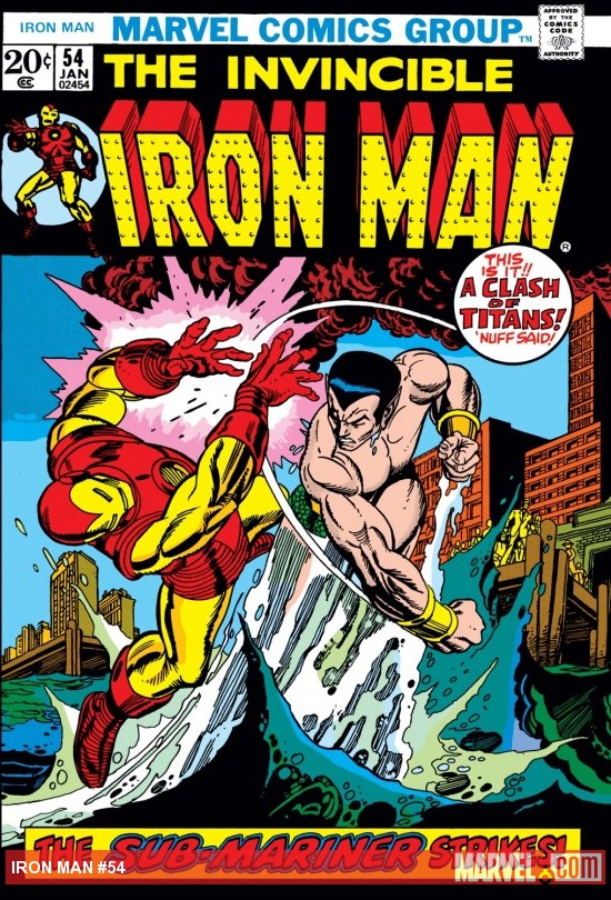 Iron Man (1968) #54