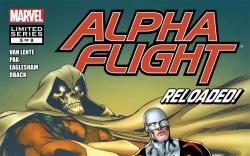 Alpha Flight (2011) #5 cover