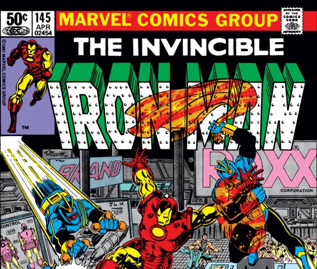 Iron Man (1968) #145 Cover