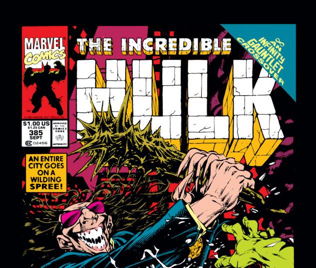 Incredible Hulk (1962) #385 Cover