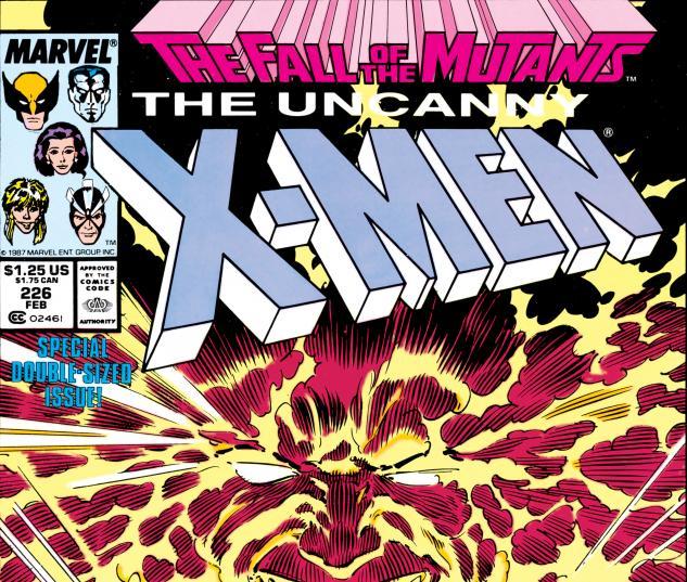 Uncanny X-Men (1963) #226 Cover