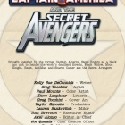 Captain America and the Secret Avengers #1 preview art by Greg Tocchini