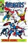 Avengers (1963) #58 cover