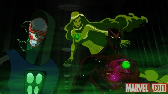 Screenshot of the U-Foes from The Avengers: Earth's Mightiest Heroes!