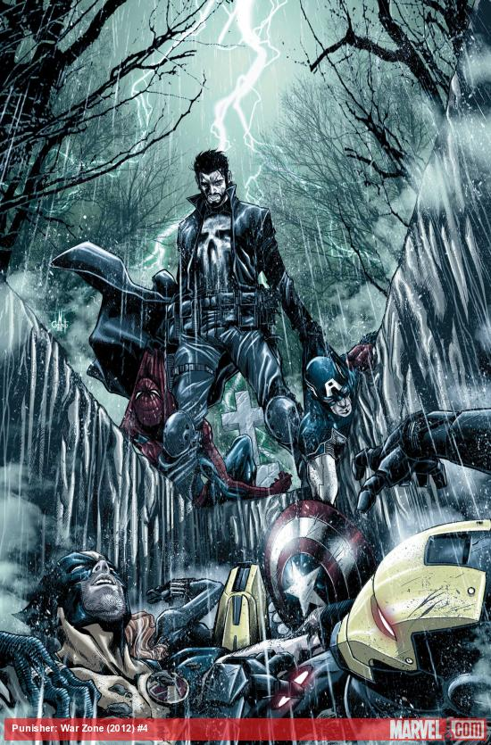 Punisher: War Zone #4