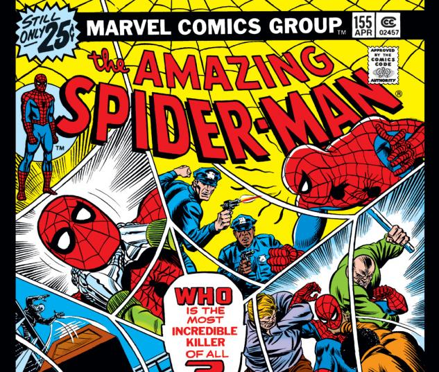 Amazing Spider-Man (1963) #155 Cover