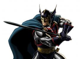 Black Knight character model from Marvel: Avengers Alliance