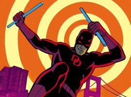 Daredevil: Road Warrior #1 cover by Chris Samnee