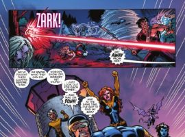 Image Featuring Rogue, Storm, Cyclops