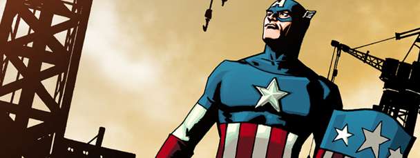 A Free Captain America Comic for U.S. Soldiers