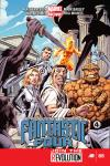cover from Fantastic Four (2012) #5
