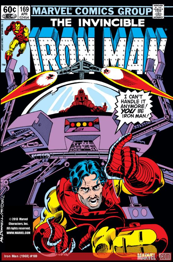 Iron Man (1968) #169 Cover