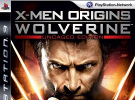 X-Men Origins: Wolverine PS3 Box Art