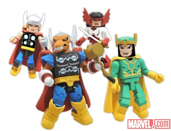 Diamond Select Toys Stormbreaker Minimates
