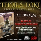 Get a Special Thor & Loki: Blood Brothers DVD Coupon