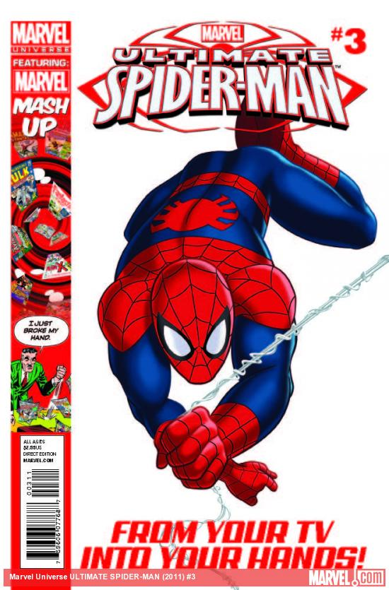 MARVEL UNIVERSE ULTIMATE SPIDER-MAN 3
