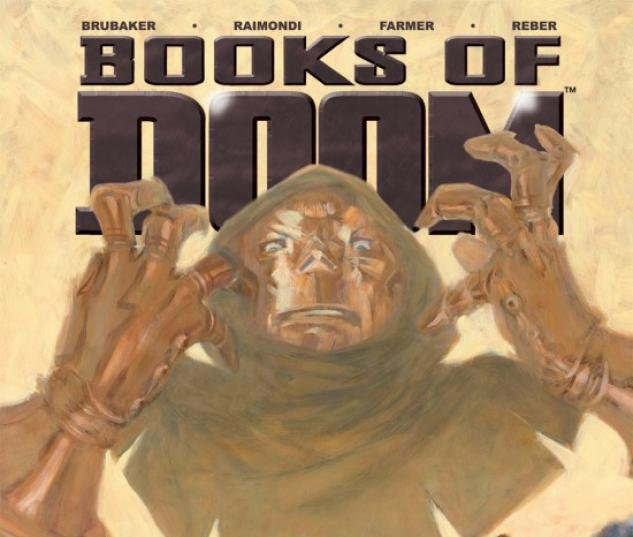 BOOKS OF DOOM (2008) #4 COVER