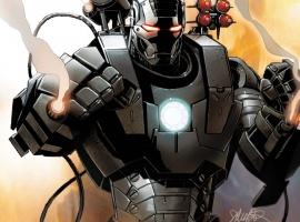 Iron Man 2.0 #1 cover by Salvador Larroca