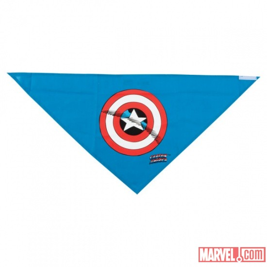 Captain America Bandana by Fetch available at PetSmart