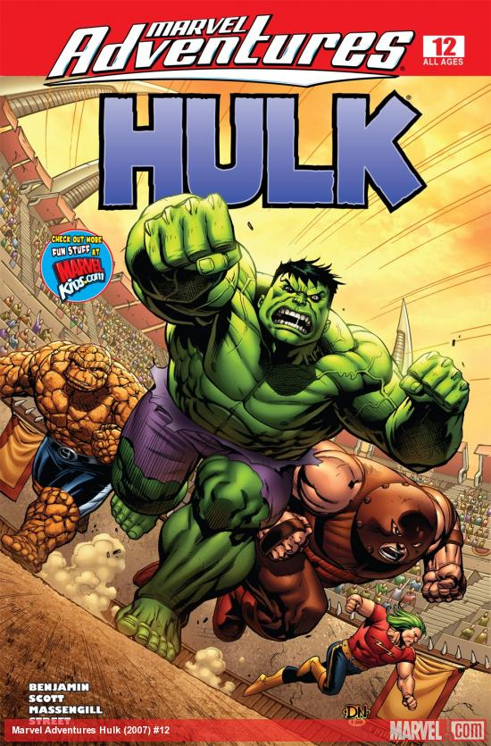 Marvel Adventures Hulk (2007) #12