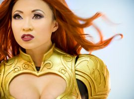 SDCC 2013: Yaya Han as Phoenix from Avengers Alliance
