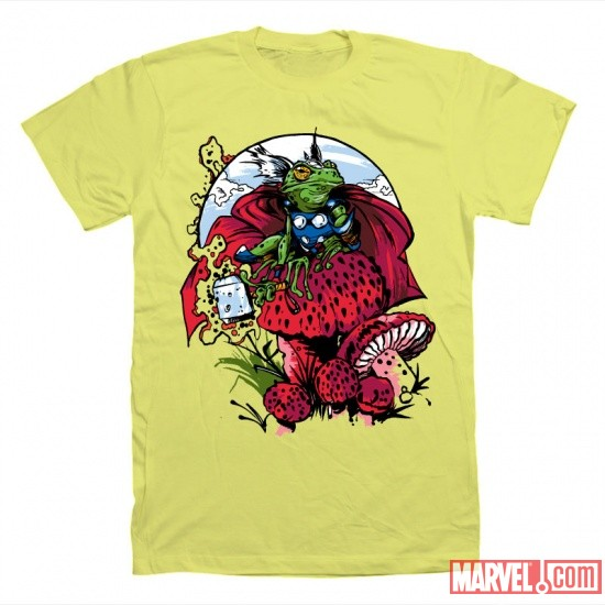 Frog Thor t-shirt from Mighty Fine