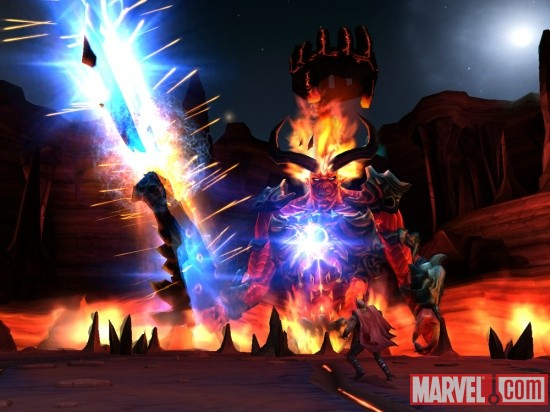 Thor: God of Thunder Nintendo Wii screenshot
