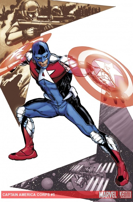 Cap Corps (2010) #5