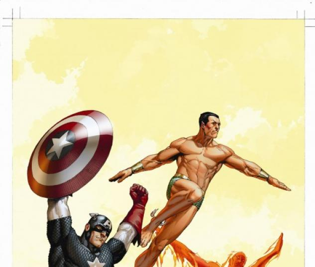 The Marvels Project (2009) #8