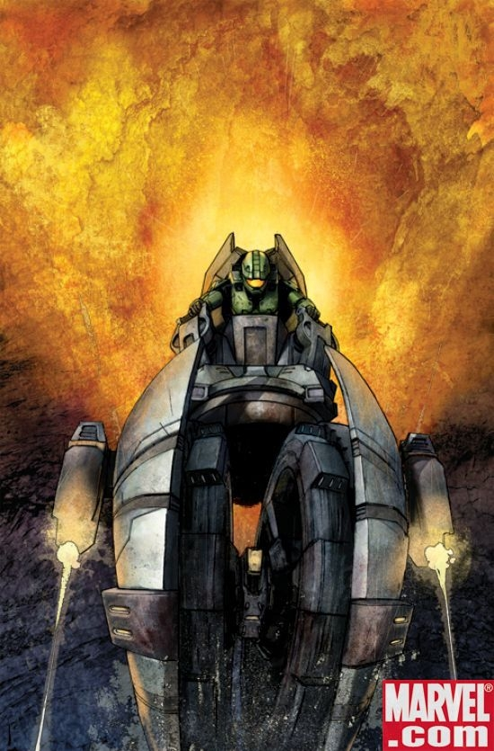 Halo: Uprising #2 cover