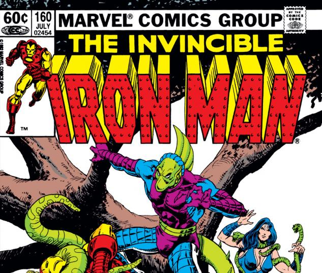 Iron Man (1968) #160 Cover