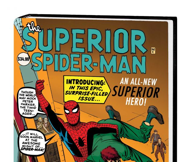 SUPERIOR SPIDER-MAN VOL. 1 HC DITKO COVER (DM ONLY)