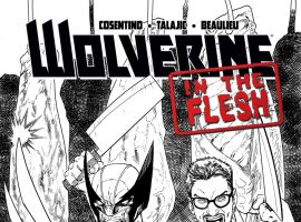 WOLVERINE: IN THE FLESH 1 SEELEY 2ND PRINTING VARIANT (WITH DIGITAL CODE)