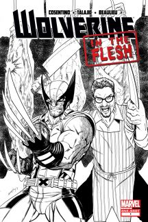 Wolverine: In The Flesh #1  (Seeley 2nd Printing Variant)