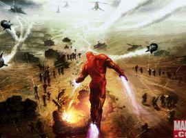 Iron Man Video Game Concept Art