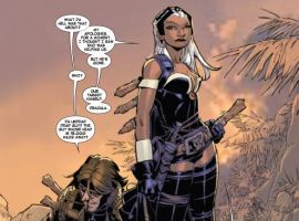 X-Men: Curse of the Mutants - Storm & Gambit #1 preview art by Chris Bachalo