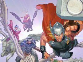 Marvel AR: Thor: God of Thunder #18 Cover Recap
