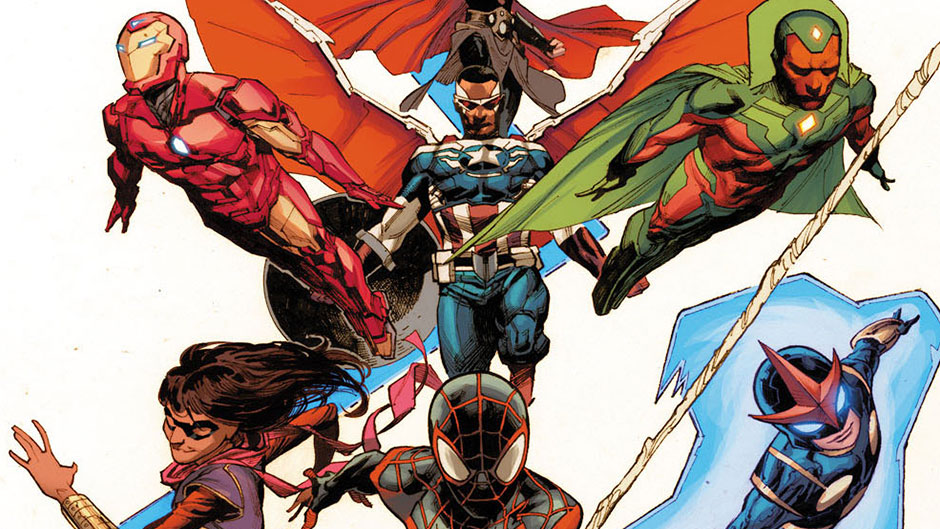 Free Comic Book Day 2015 art by Jerome Opena