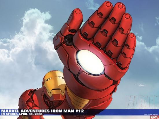 Marvel Adventures Iron Man (2007) #12 Wallpaper